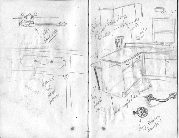 sketchbook layout 10 by Irv Yaniger